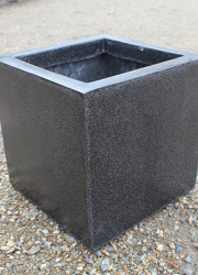 Fibreglass pot - square