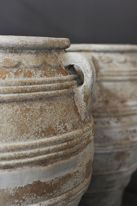 Rustic Terrracotta Jars And Urns